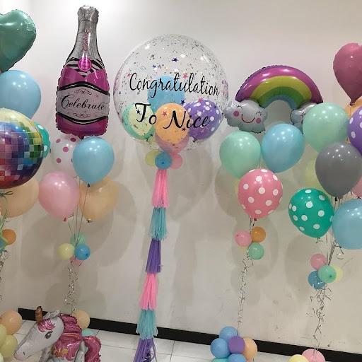 ลูกโป่ง Congratualation